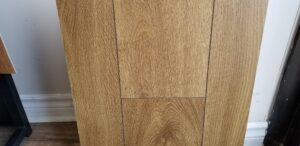 "10mm laminate 7-1/2"" wide made in Europe, Aquarius Oak – 2247sf available"